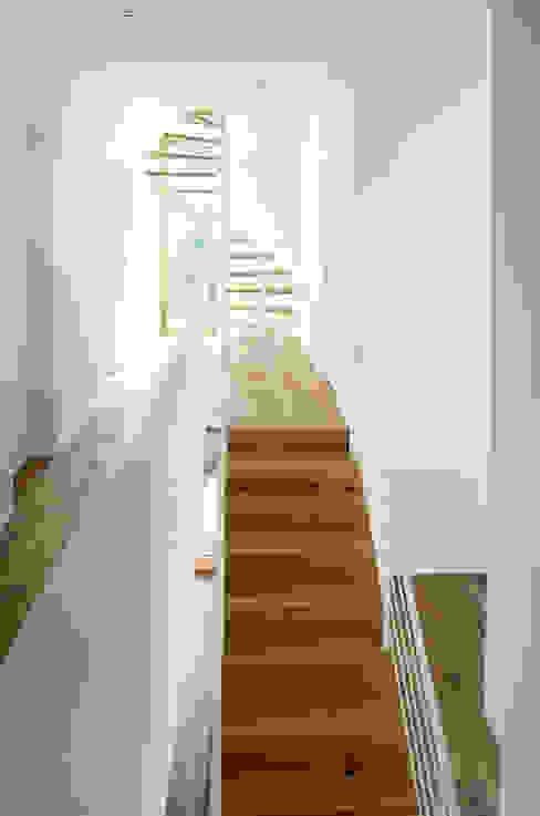 Pasillos, vestíbulos y escaleras de estilo moderno de plan X architekten gmbh Moderno
