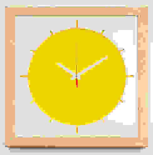 "Big clock ""Sun"" от Meble Autorskie Jurkowski Лофт"