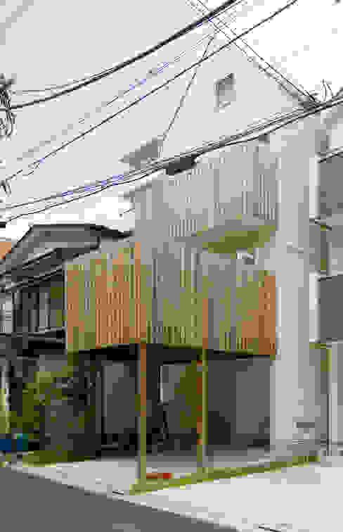 外観2 オリジナルな 家 の 山本陽一建築設計事務所 オリジナル