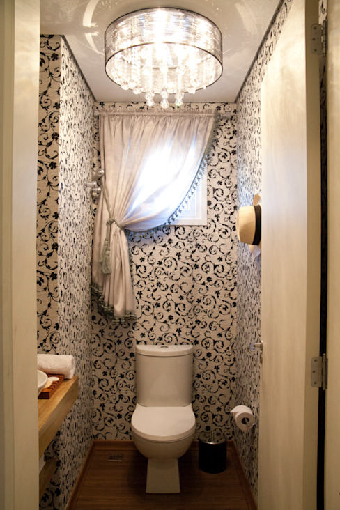 Rustic style bathroom by ARQ Ana Lore Burliga Miranda Rustic