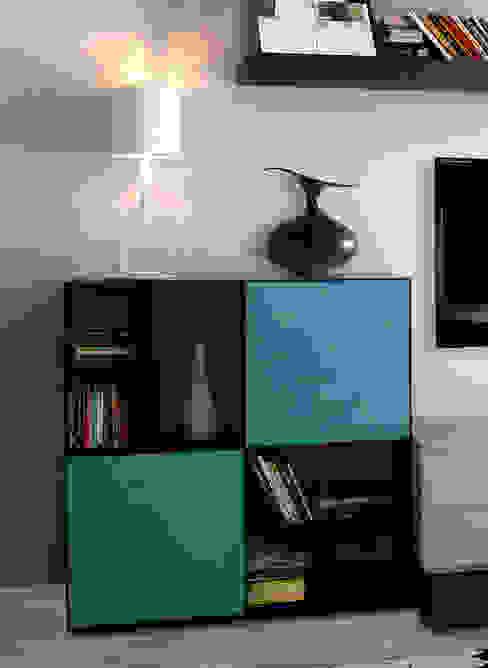 Casa Palmieri - living Mighali_Faggiano studio Soggiorno moderno