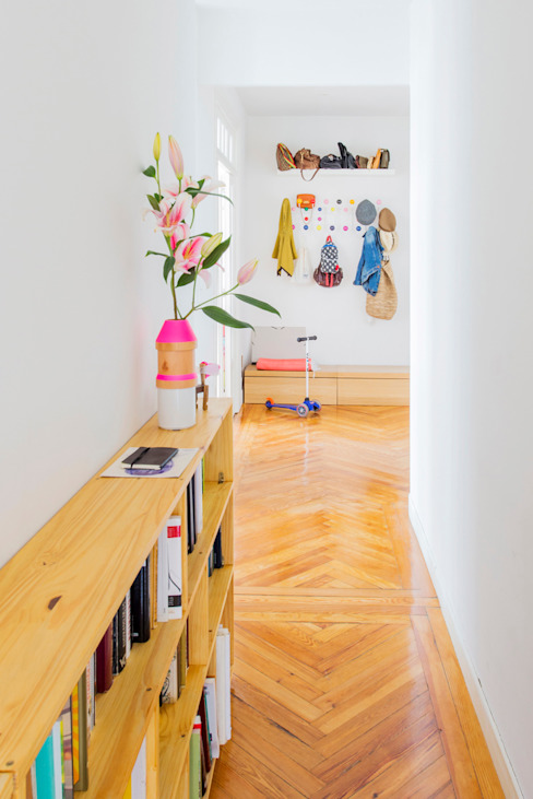 nimú equipo de diseño Koridor & Tangga Gaya Skandinavia