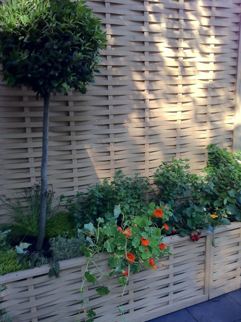 Quercus Raised Beds -Extra Space in a small garden Quercus UK Ltd 庭院