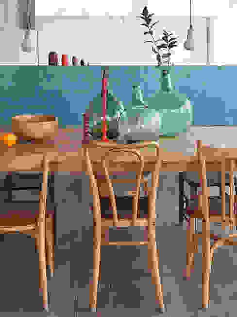 Scandinavian style dining room by nimú equipo de diseño Scandinavian