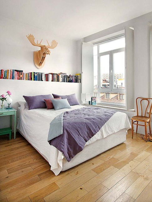 Chambre scandinave par nimú equipo de diseño Scandinave