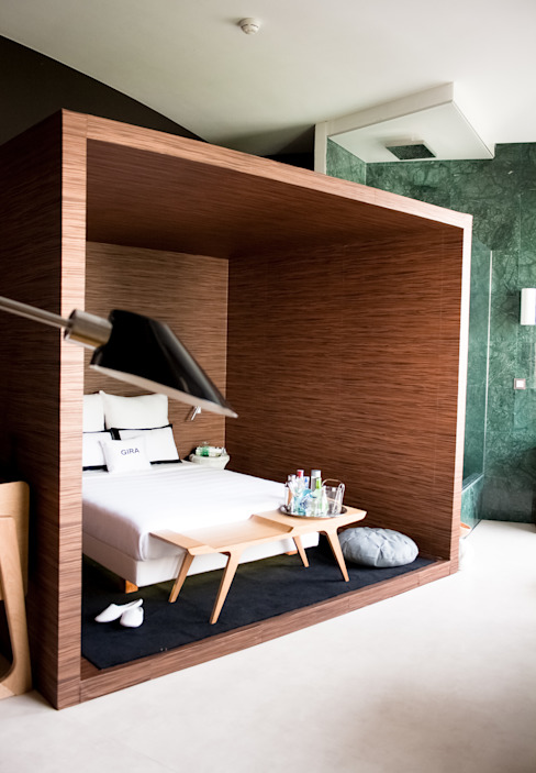 Moderne Hotels von Álvaro Leco Fotógrafo Modern