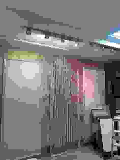 первые шторы из хрусталя Абрикос Окна и двериШторы и драпировка