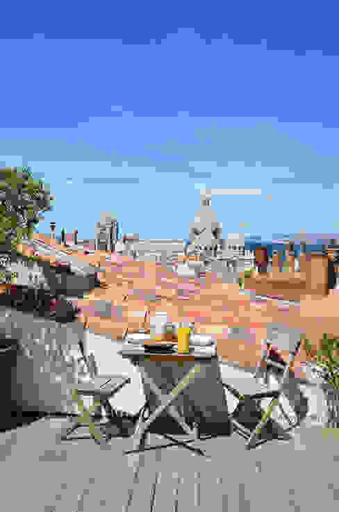 Toit terrasse à Marseille Hôtels méditerranéens par Slowgarden Méditerranéen