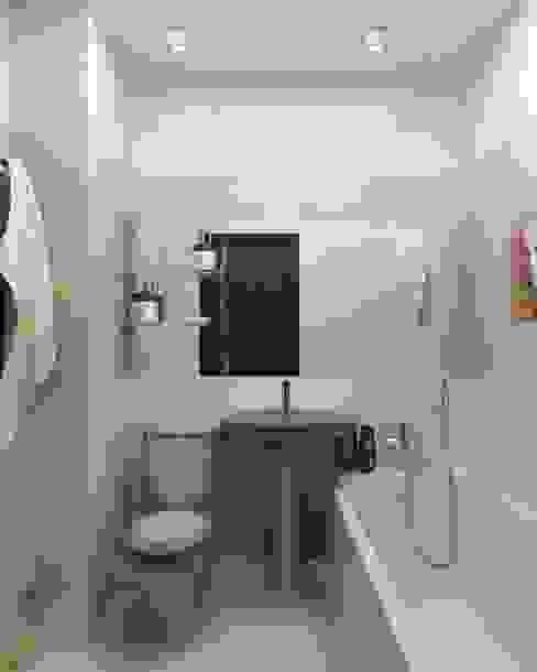 Ванные комнаты в . Автор – homify, Минимализм