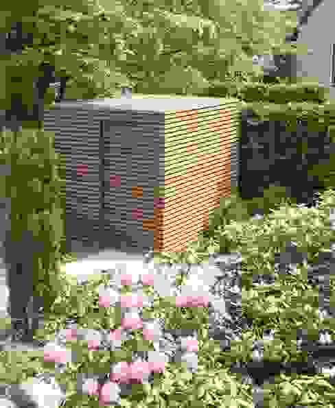 Jardins modernos por Fellbacher Metall- und Holzbau GmbH Moderno
