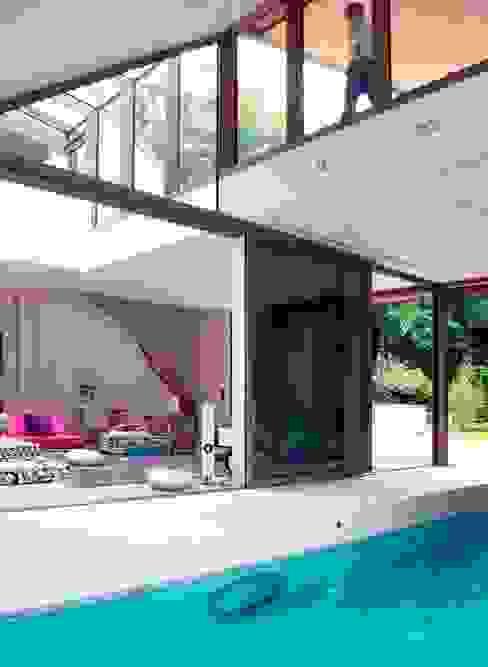 Villa M Moderne Pools von HS Architekten BDA Modern