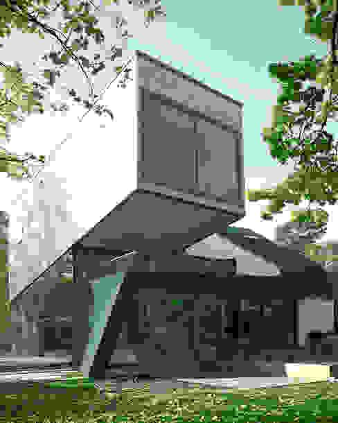 Moderne huizen van HS Architekten BDA Modern
