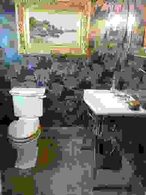 Emprador Marble Flooring Marbles Ltd Classic style bathroom