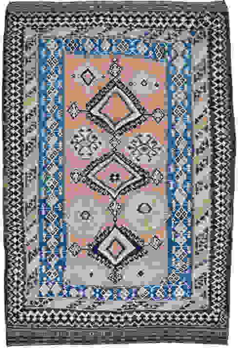 Kelims in mittlerer Größe Kiran Kelim & Teppich Kunst EsszimmerAccessoires und Dekoration