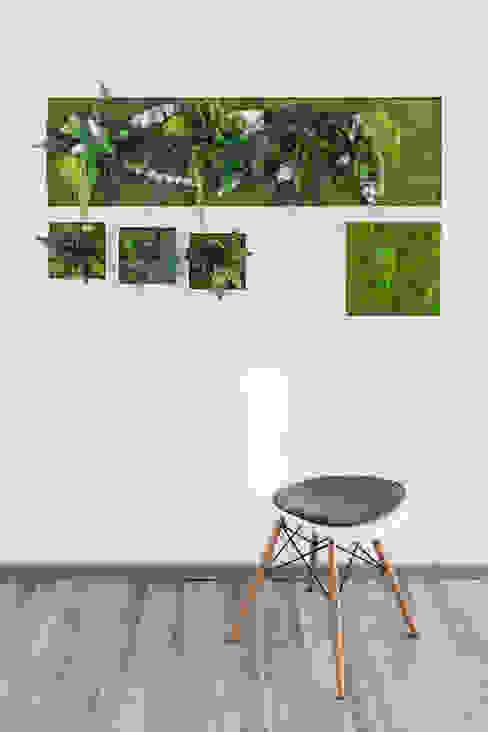 di FlowerArt GmbH | styleGREEN Moderno Fibre naturali Beige