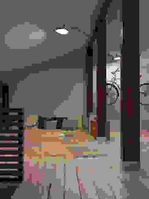 Интерьер OOD Спальня в скандинавском стиле от INT2architecture Скандинавский