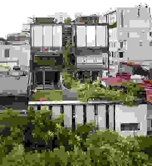 Edificio Teotihuacán Jardines de estilo minimalista de Cm2 Management Minimalista