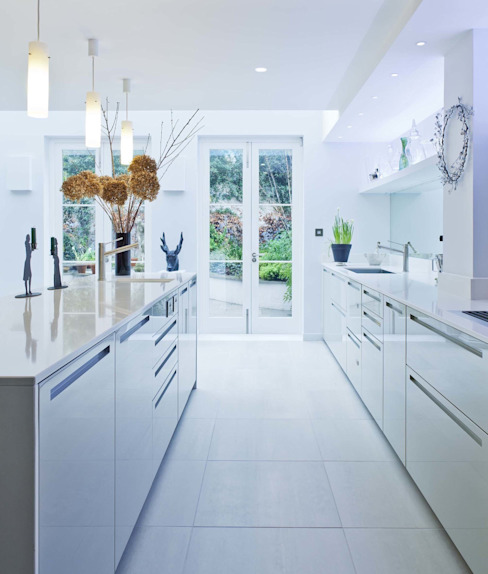 Vicarage Gardens Modern kitchen by Sonnemann Toon Architects Modern