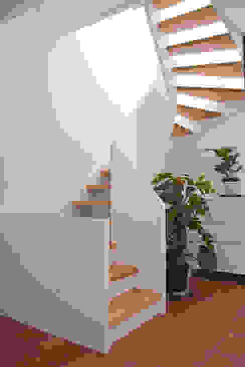 Innentreppe ahoch4 Architekten Moderner Flur, Diele & Treppenhaus