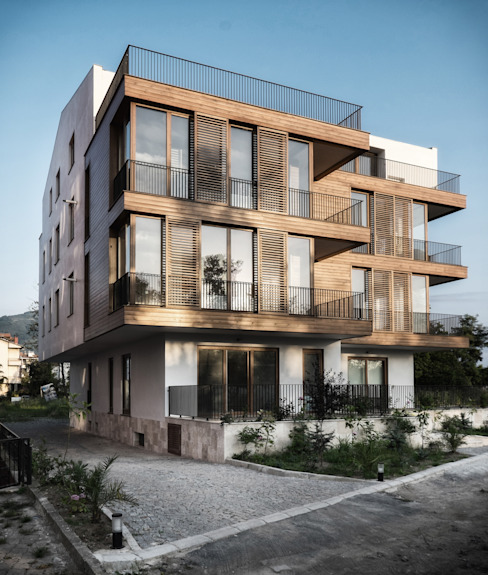 Дома в . Автор – Atelye 70 Planners & Architects, Модерн