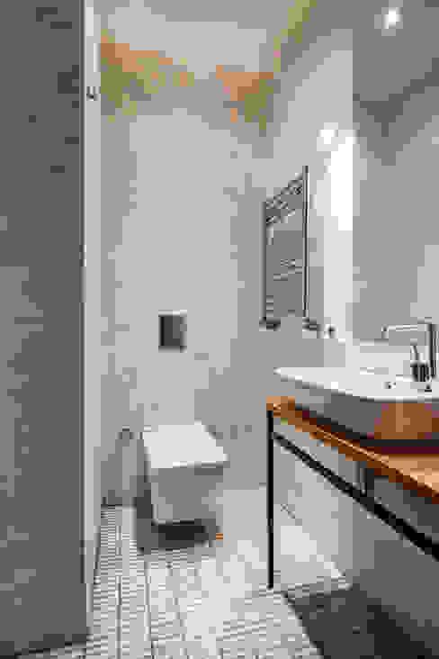Gabriel Apartment Bathroom Modern Banyo Atelye 70 Planners & Architects Modern