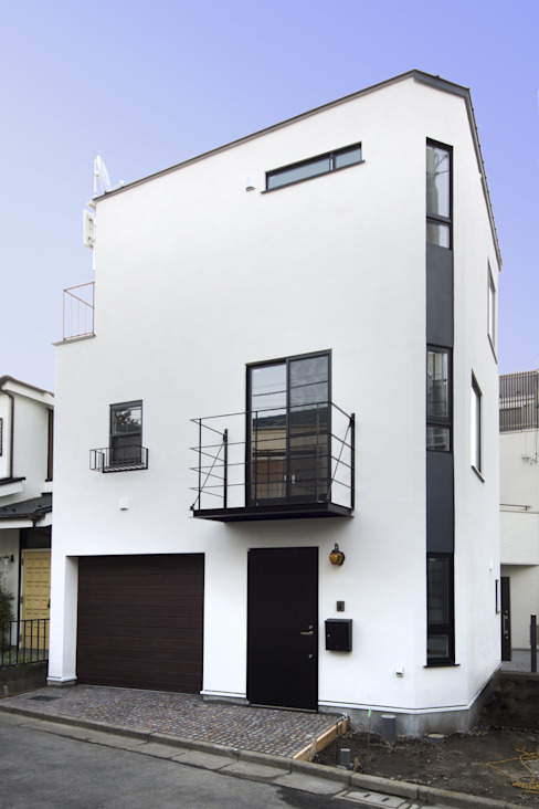 Rumah Modern Oleh 折原剛建築計画事務所/Tsuyoshi Orihara Architects Modern