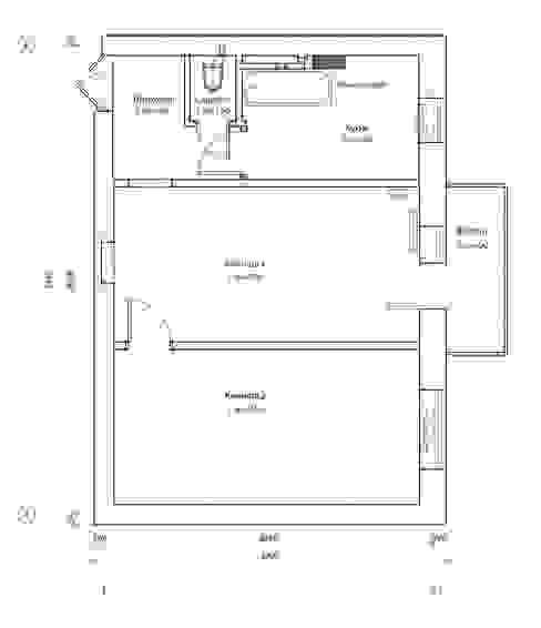 План квартиры до перепланировки homify