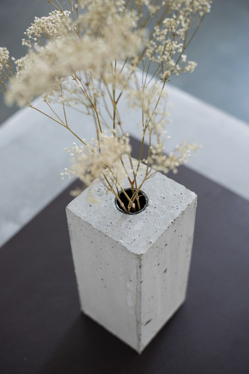 Beton Vase von Accidental Concrete Skandinavisch
