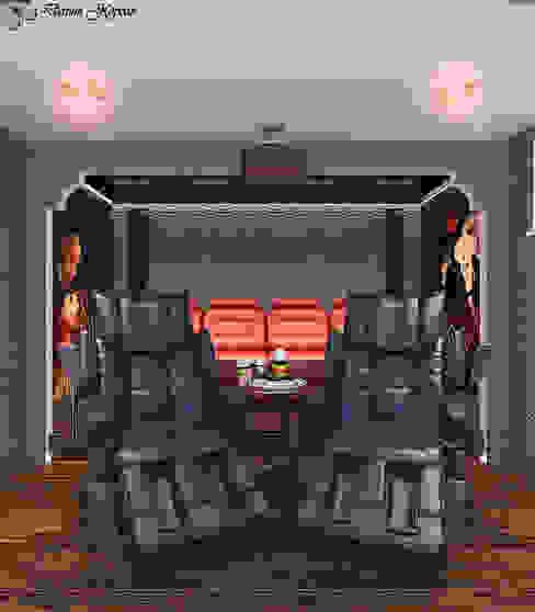 home Theater Медиа комната в стиле минимализм от Your royal design Минимализм