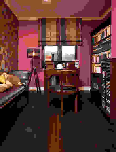 Dom Tancerzy: styl , w kategorii Domowe biuro i gabinet zaprojektowany przez Pracownia Projektowa Poco Design,Kolonialny