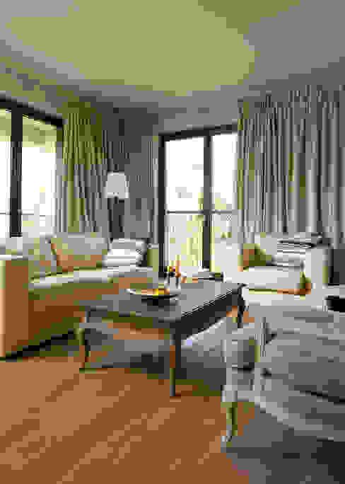 Pastelowy Wilanów: styl , w kategorii Salon zaprojektowany przez Pracownia Projektowa Poco Design,Klasyczny