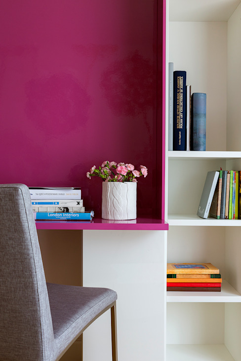 Studio minimalista di Pracownia Projektowa Poco Design Minimalista