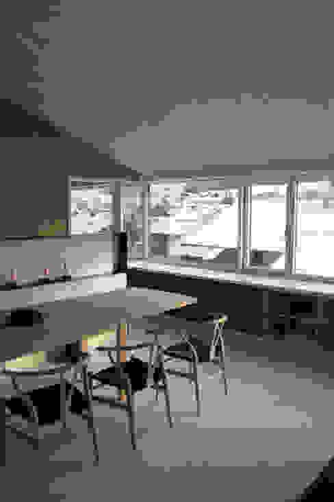 Essbereich Skandinavische Esszimmer von Arc Architekten Partnerschaft Skandinavisch