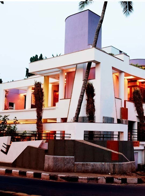 ANWAR SALEEM RESIDENCE Modern houses by Muraliarchitects Modern