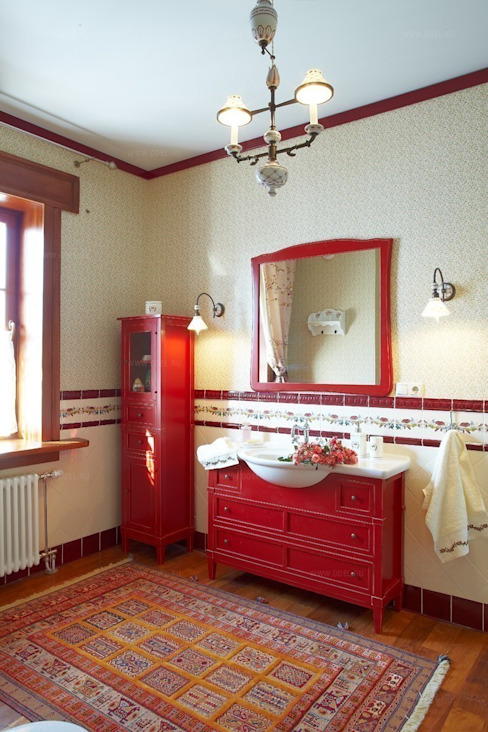 Country style bathroom by ODEL Country