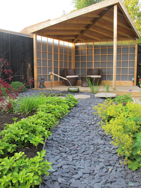 Zen Inspired Garden, Bradley Stoke Сад в азиатском стиле от Katherine Roper Landscape & Garden Design Азиатский
