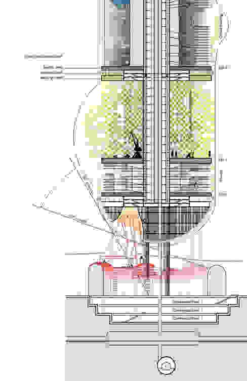 Captage d'énergie entropique et production de biomasse Lieux d'événements modernes par XLGD architectures Moderne
