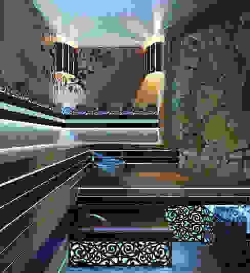 Сауна в стиле SPA салона Спа в стиле модерн от Студия дизайна Interior Design IDEAS Модерн
