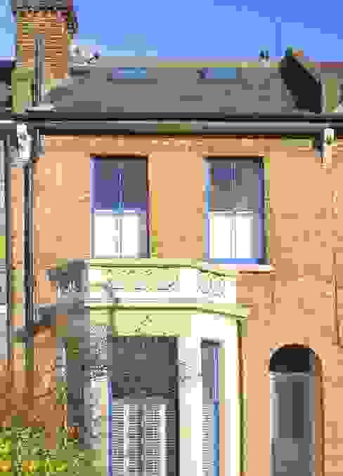 l-shaped dormer loft conversion balham Modern houses by homify Modern
