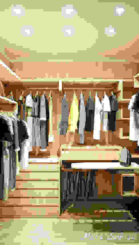 غرفة الملابس تنفيذ Marina Sarkisyan,
