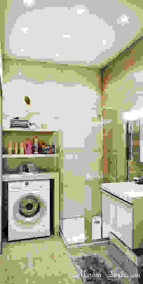 Marina Sarkisyan의  욕실, 에클레틱 (Eclectic)