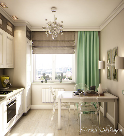 Eclectic style kitchen by Marina Sarkisyan Eclectic
