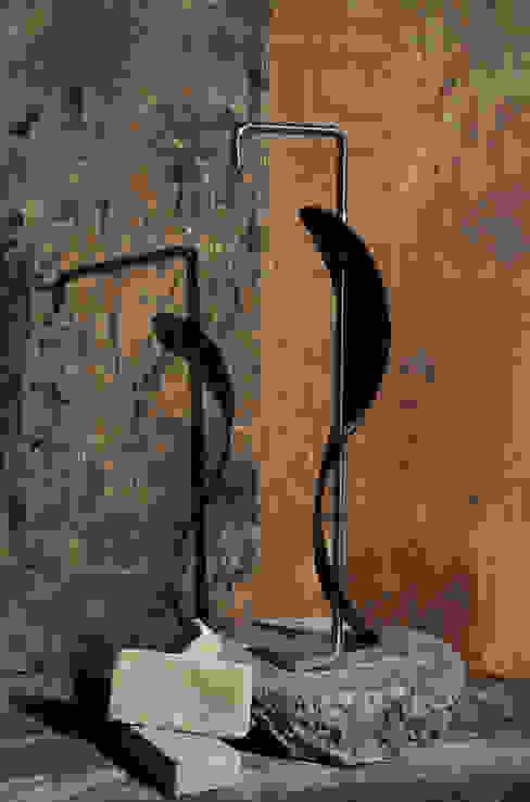 Foglia di Ivo Martini Moderno Ferro / Acciaio