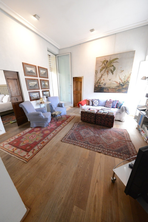 L'area Living Sala da pranzo in stile classico di Studio Fori Classico