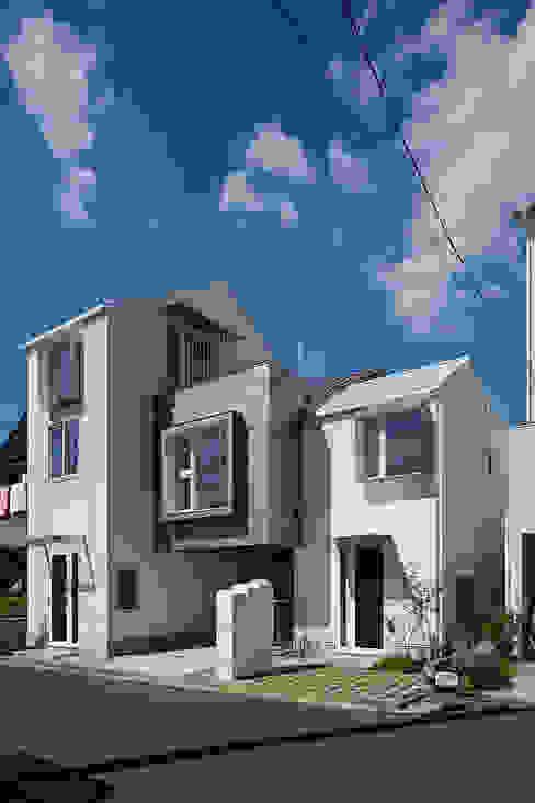 sandwich apartment: 池田雪絵大野俊治 一級建築士事務所が手掛けた家です。,オリジナル