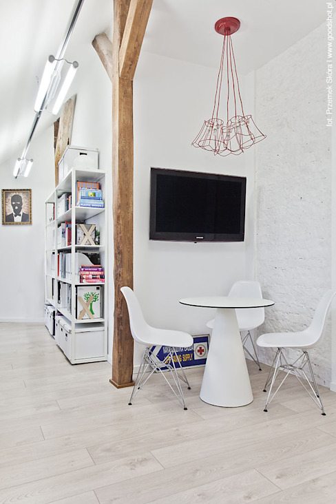 Scandinavian style study/office by homify Scandinavian