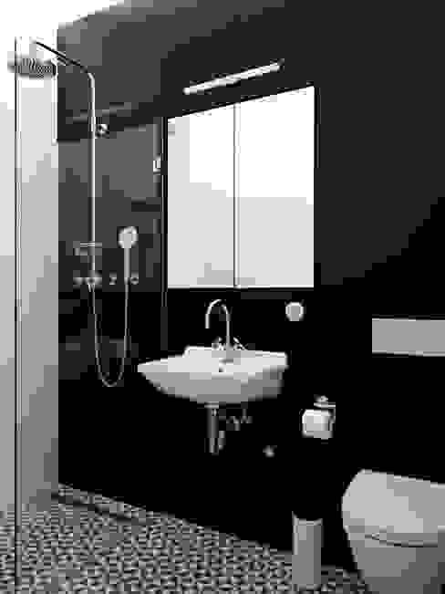 łazienka Czarno Biała 10 Pomysłów