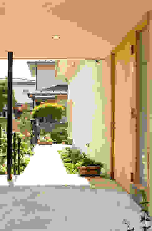 ENTRY Casas modernas de FURUKAWA DESIGN OFFICE Moderno
