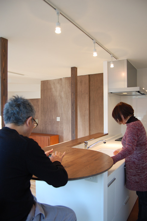 Kitchen 모던스타일 주방 by FURUKAWA DESIGN OFFICE 모던