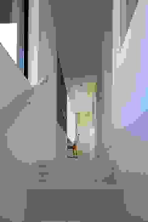 オカノいえ: 株式会社飯島洋省andHAND建築設計事務所が手掛けた廊下 & 玄関です。,ミニマル